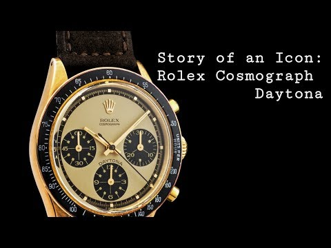 Story of an Icon: Rolex Cosmograph Daytona