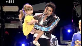 Gambar cover Michael Jackson - Heal the world - Live in Munich (HD-720p)
