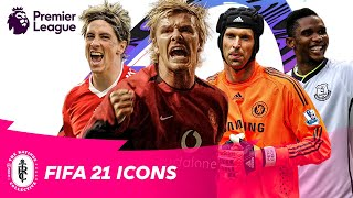 David Beckham's FIFA 21 Icon Rating revealed! New Premier League ICONS in FIFA 21 | AD