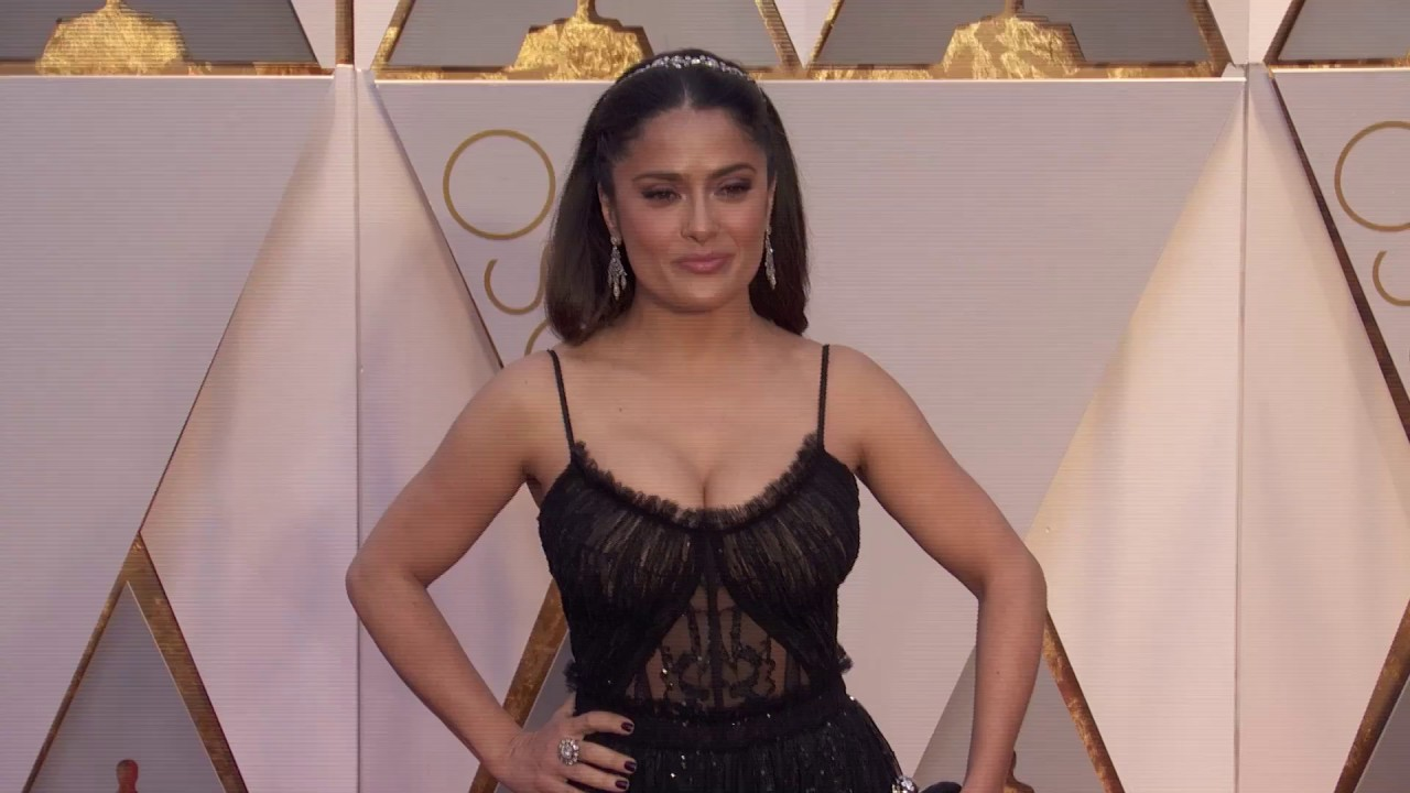Download Salma Hayek Oscars 2017 Red Carpet Arrival Fashion