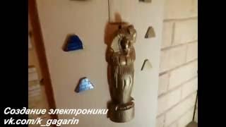 Дверь гробницы Фараона - Пазл. Оборудование для квестов(7 RFID считывателей и 2 мотора Изготовление электроники для квестов и event - агенств. www.vk.com/k_gagarin., 2016-09-28T21:44:05.000Z)