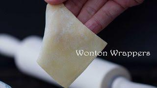 Wonton Wrapper