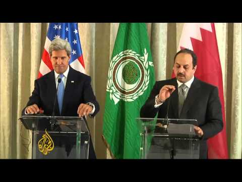 Kerry seeks Arab support for Syria action