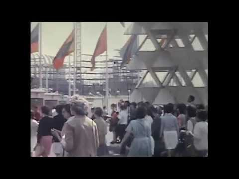 Never Before Seen Footage of the World's Fair 1964!