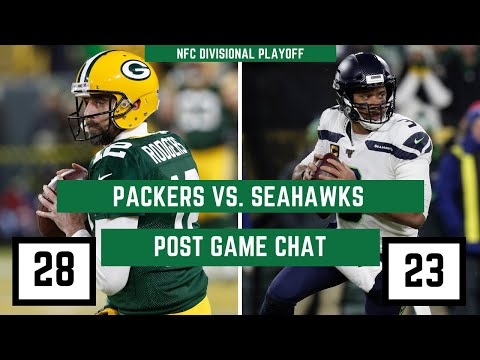 Packers Vs. Seattle Seahawks Playoffs Week 2   PackersNews Postgame Chat