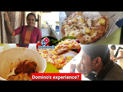 #DIML Domino's 🍕pizza Worst And Bad Experience / going for dominos pizza for the first time