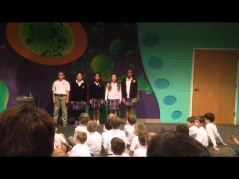 Webster Christian School 5th Grade Recitation