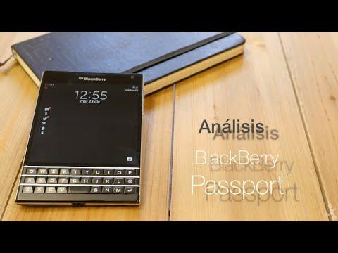 Análisis BlackBerry Passport, review en español