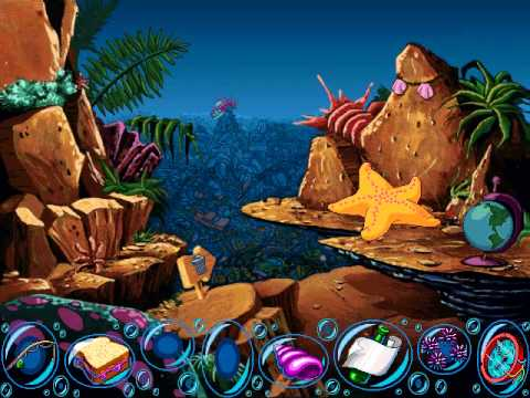 Freddi Fish 1: The Case Of The Missing Kelp Seeds Walkthrough