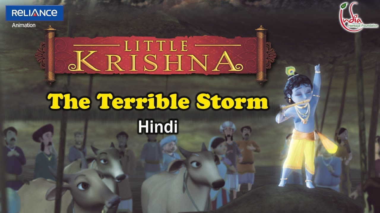 Little Krishna Hindi - Episode 2 Govardhana Lila