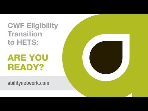 ABILITY Network helps with the CWF to HETS Transition for Part A Medicare providers