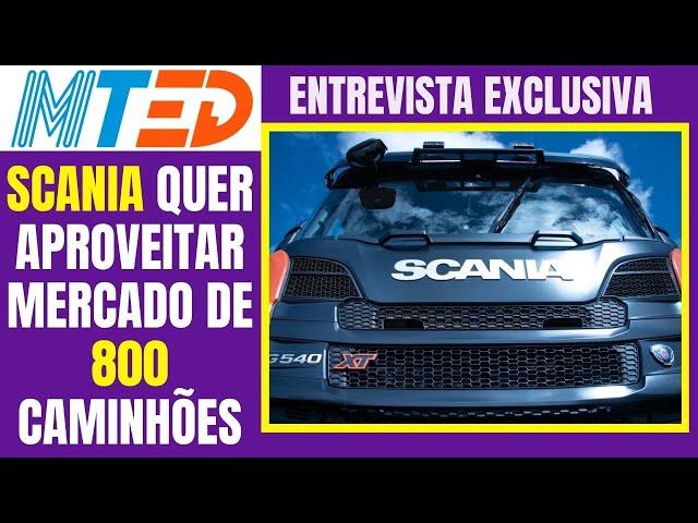 SCANIA 10X4 TEM MERCADO DE ATÉ 800 UNIDADES E MUITAS INFORMAÇÕES EXCLUSIVAS - MTED