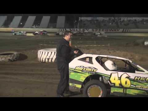 King of Kansas City Mod Lites E Mods Street Stocks Mains 10 3 15 - dirt track racing video image