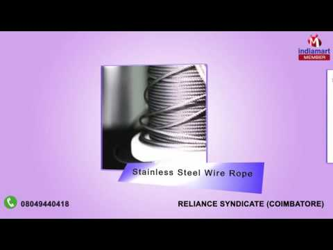Wire Rope And Lifting Sling By Reliance Syndicate, Coimbatore