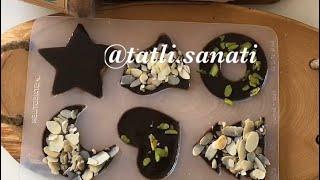 Evde Çikolata Yapılışı | Tatlı Sanatı | Tatlı Tarifleri | Nefis Yemek Tarifleri