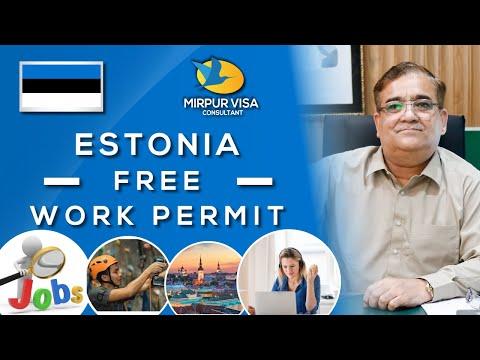 Estonia Free Work Permit | Jobs in Estonia 2021 | Estonia Visa Requirments | Major Kamran