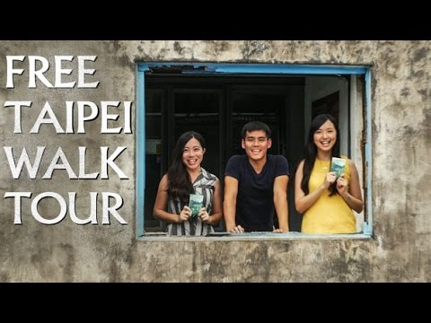 😊{Free Tour} Travel in Taiwan -- Taipei Walking Tour by Like it Formosa