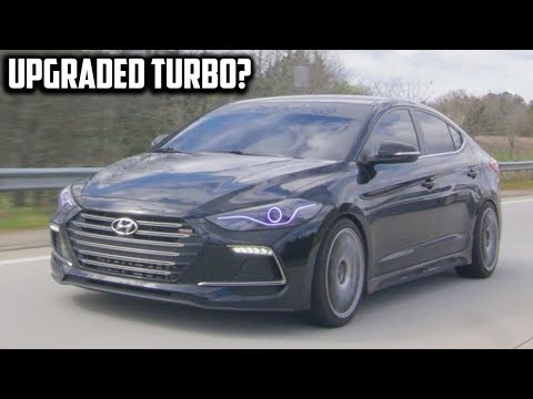 Upgraded Turbo Hyundai Elantra Review! - An Unexpected Sleeper