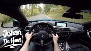 2017 BMW 420d Gran Coupé 190 hp POV Test drive