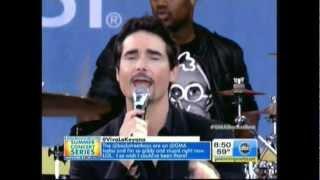 Backstreet Boys on GMA