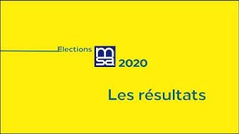 Elections MSA : Les résultats 2020