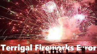 Australian Fireworks Explode