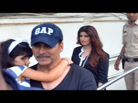 Akshay Kumar hides daughter Nitara from Media | VIDEO