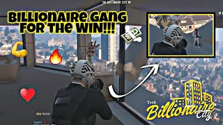 Billionaire Gang VS. 3 GANGS and POLICE (GANG WAR RAID) - GTA 5 RP Billionaire City