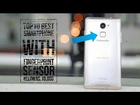 Top10 Best Smartphone With Fingerprint Sensor Below Rs.10,000