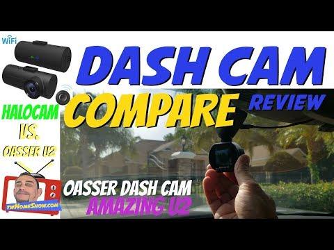 OASSER | Amazing U2 DASH CAM - Compare to - HALOcam C1 - RECORD YOUR DRIVING!