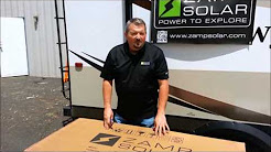 Zamp Solar's Deluxe Roof Top Solar Kit Install