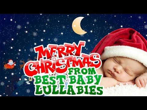 CHRISTMAS Songs To Put A Baby To Sleep Lyrics-Baby Lullaby Lullabies  Bedtime TWINKLE TWINKLE♥
