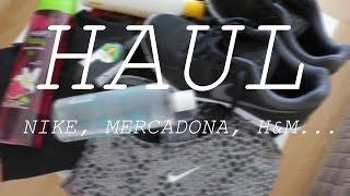 Haul Variado: Mercadona, Ziaja, Nike, H&M