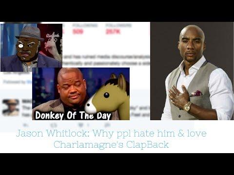 S. Graham - Jason Whitlock: Why Many Black People Hate Him & Applaud Charlamagne Tha God