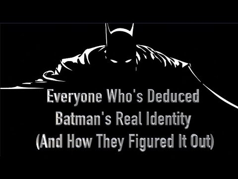 Fred - Who Knows That Batman Is Really Bruce Wayne? A Lot Of People Actually