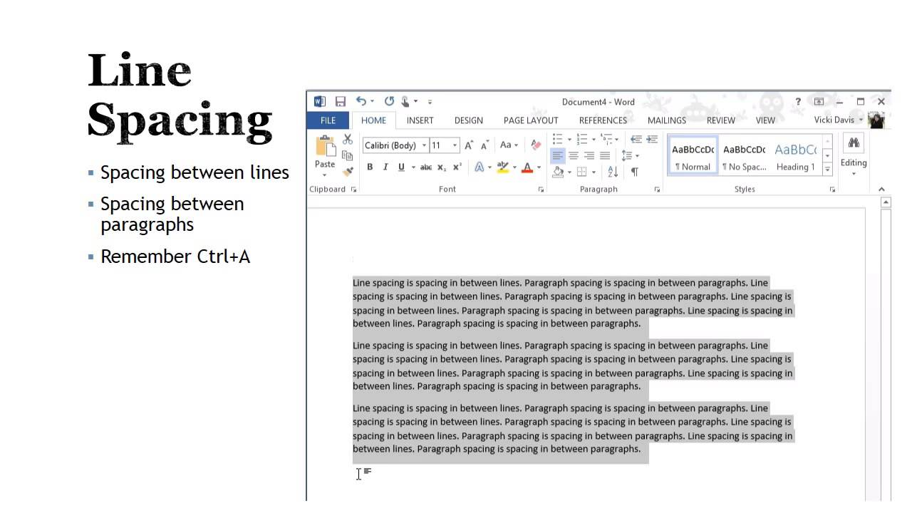 create a memo using word processing software