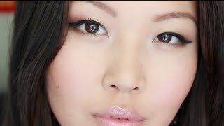 Quick Everyday Makeup for Asian Eyes + Favorite Drugstore Products Review Thumbnail