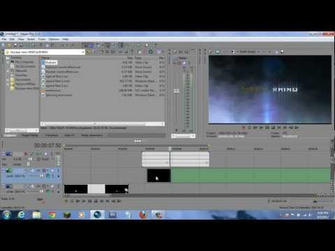 How to Make a Professional Explosive Intro in Sony Vegas Pro 13, ...