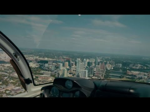 Flying Austin in the ICON A5