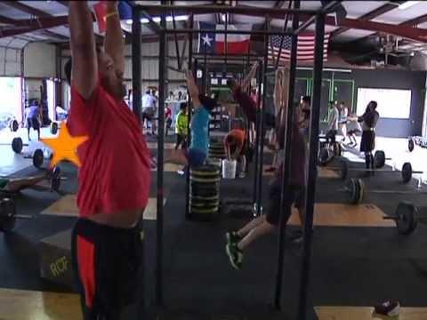 CrossFit Hero WOD for Eubin Gomez