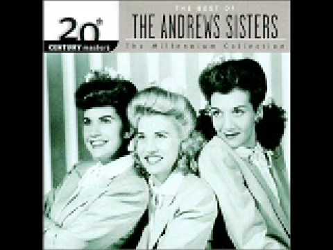 The Andrews Sisters - When the Midnight Choo Choo Leaves for Alabam