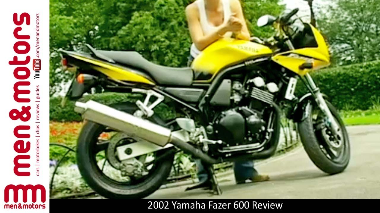 2002 yamaha fazer 600 review youtube. Black Bedroom Furniture Sets. Home Design Ideas
