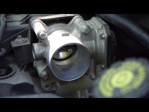 Throttle Mass Airflow Sensor Cleaning Renault Clio 3