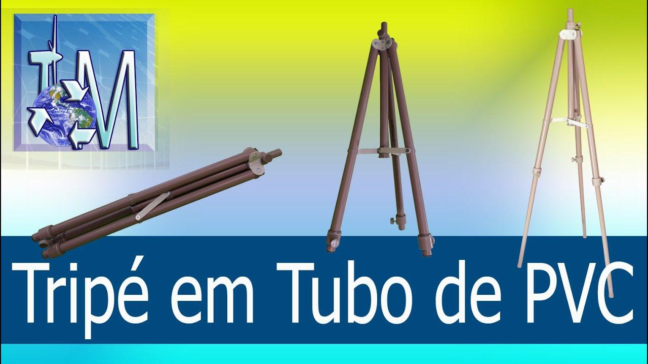 Download Tripé em Tubo de PVC