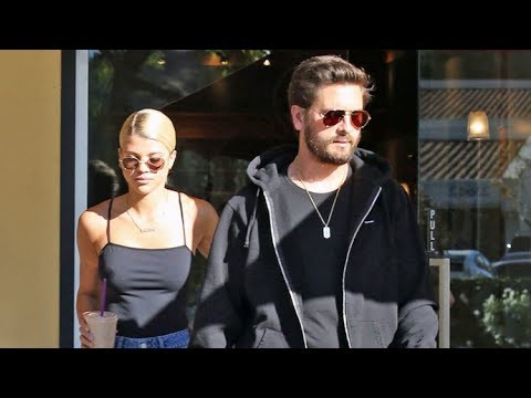 Sofia Richie And Scott Disick Asked About Holiday And Marriage Plans During Day-Date