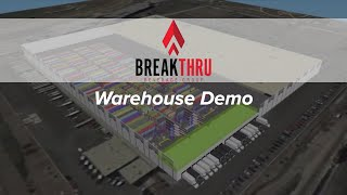 Automated Storage Warehouse Demo at Breakthru Beverage Illinois