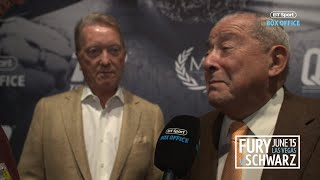 Frank Warren and Bob Arum update on Wilder v Fury trilogy and Tyson Fury's personality