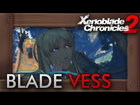 Xenoblade Chronicles 2 - How to Get Rare Blade Vess (Tranquility, Salty Soil, Fief of Forgetfulness)
