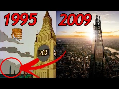 22 SIMPSONS Vorhersagen, die WAHR wurden (Simpsons sehen die Zukunft) | MythenAkte