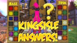 Why Cant Guys Wear Pink? KINGSISLE ANSWERS ON KI LIVE?!